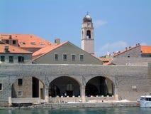 Arquitetura da cidade de Dubrovnik fotos de stock royalty free