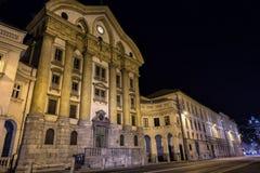 Arquitetura da cidade de Dubrovnik, Coratia Imagem de Stock Royalty Free