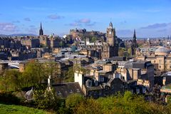 Arquitetura da cidade de Edimburgo Imagem de Stock