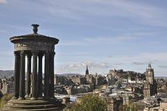 Arquitetura da cidade de Edimburgo do monte de Calton, Edimburgo, Escócia, Reino Unido Foto de Stock