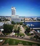 Arquitetura da cidade de Gdynia Imagem de Stock