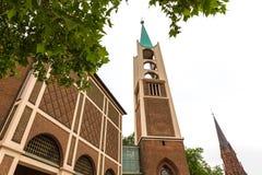 Arquitetura da cidade de Gelsenkirchen Alemanha Imagens de Stock Royalty Free