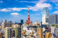 Arquitetura da cidade de Japão do Tóquio Fotografia de Stock