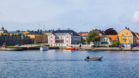 Arquitetura da cidade de Karlskrona Fotografia de Stock