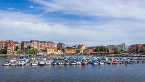 Arquitetura da cidade de Karlskrona Foto de Stock Royalty Free