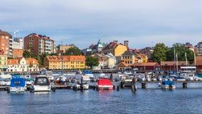 Arquitetura da cidade de Karlskrona Imagem de Stock
