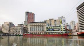 Arquitetura da cidade de Manila, Filipinas Imagem de Stock