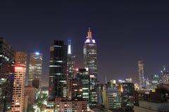 Arquitetura da cidade de Melbourne Imagens de Stock