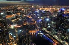 Arquitetura da cidade de Melbourne Fotografia de Stock