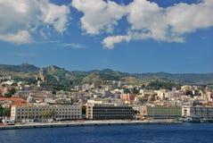 Arquitetura da cidade de Messina fotografia de stock royalty free