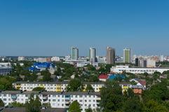 Arquitetura da cidade de Minsk do verão Fotos de Stock