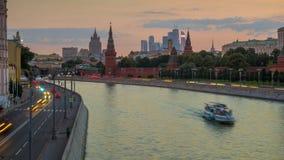 Arquitetura da cidade de Moscou Imagem de Stock Royalty Free