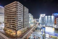 Arquitetura da cidade de Naha Foto de Stock Royalty Free