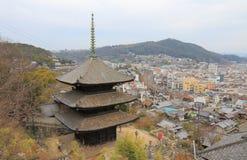 Arquitetura da cidade de Onomichi em Hiroshima Japão Foto de Stock Royalty Free