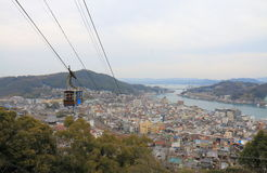 Arquitetura da cidade de Onomichi em Hiroshima Japão Fotos de Stock Royalty Free