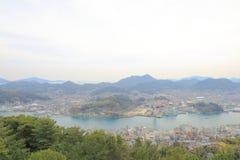 Arquitetura da cidade de Onomichi em Hiroshima Japão Foto de Stock