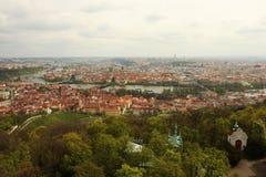 Arquitetura da cidade de Praga, Europa Imagens de Stock Royalty Free
