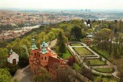 Arquitetura da cidade de Praga, Europa Imagem de Stock Royalty Free