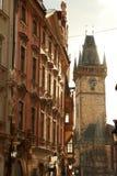 Arquitetura da cidade de Praga, Europa Foto de Stock Royalty Free