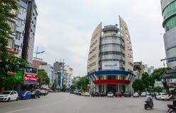 Arquitetura da cidade de Quang Ninh, Vietname Imagem de Stock Royalty Free