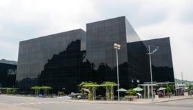 Arquitetura da cidade de Quang Ninh, Vietname Fotos de Stock Royalty Free