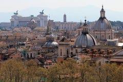 Arquitetura da cidade de Roma Fotografia de Stock