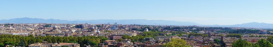 Arquitetura da cidade de Roma Fotos de Stock
