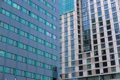 Arquitetura da cidade de Rotterdam Imagem de Stock