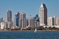 Arquitetura da cidade de San Diego Imagem de Stock