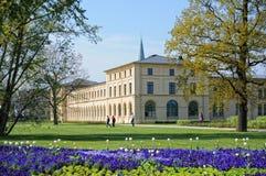 Arquitetura da cidade de Schwerin com sua baixa histórica tradicional Foto de Stock Royalty Free