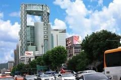 Arquitetura da cidade de Seoul Foto de Stock