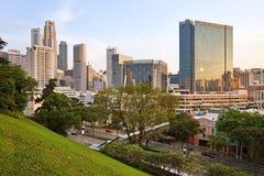 Arquitetura da cidade de Singapura Imagens de Stock