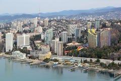 Arquitetura da cidade de Sochi Foto de Stock Royalty Free