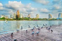 Arquitetura da cidade de Tailândia imagem de stock royalty free
