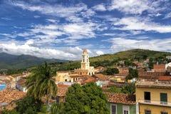 Arquitetura da cidade de Trinidad em Cuba Imagens de Stock Royalty Free