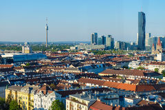 Arquitetura da cidade de Viena Áustria Imagem de Stock