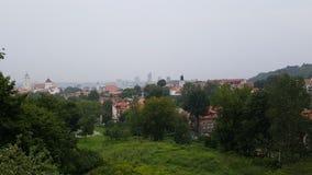 Arquitetura da cidade de Vilnius Fotografia de Stock Royalty Free