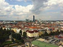 Arquitetura da cidade de Wien Foto de Stock