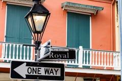 Arquitetura da cidade do bairro francês fotos de stock royalty free