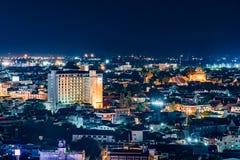 Arquitetura da cidade do centro de Chiang Mai Imagem de Stock