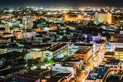 Arquitetura da cidade do centro de Chiang Mai Imagem de Stock Royalty Free