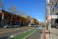 Arquitetura da cidade do centro de San Jose, Califórnia, EUA Imagem de Stock Royalty Free