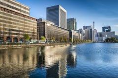 Arquitetura da cidade do Tóquio Fotos de Stock