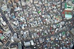 Arquitetura da cidade do Tóquio Imagens de Stock Royalty Free