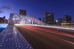 Arquitetura da cidade do Tóquio Fotos de Stock Royalty Free