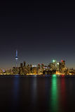 Arquitetura da cidade do vertical de Toronto Imagem de Stock Royalty Free