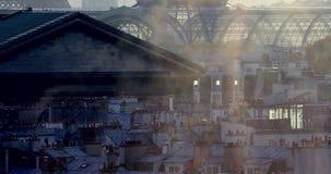 Arquitetura da cidade e poluição do ar filme
