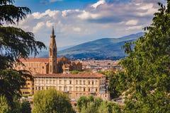 Arquitetura da cidade em Florença, Itália foto de stock
