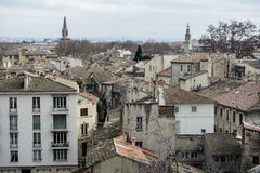 Arquitetura da cidade europeia de cima de Foto de Stock