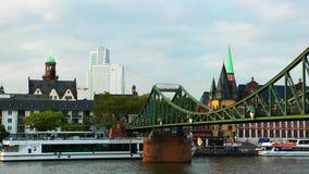 Arquitetura da cidade Francoforte Alemanha vídeos de arquivo